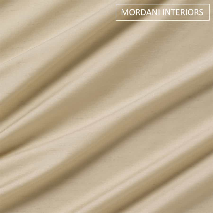 Sand Beige Silk Curtain and Drapes