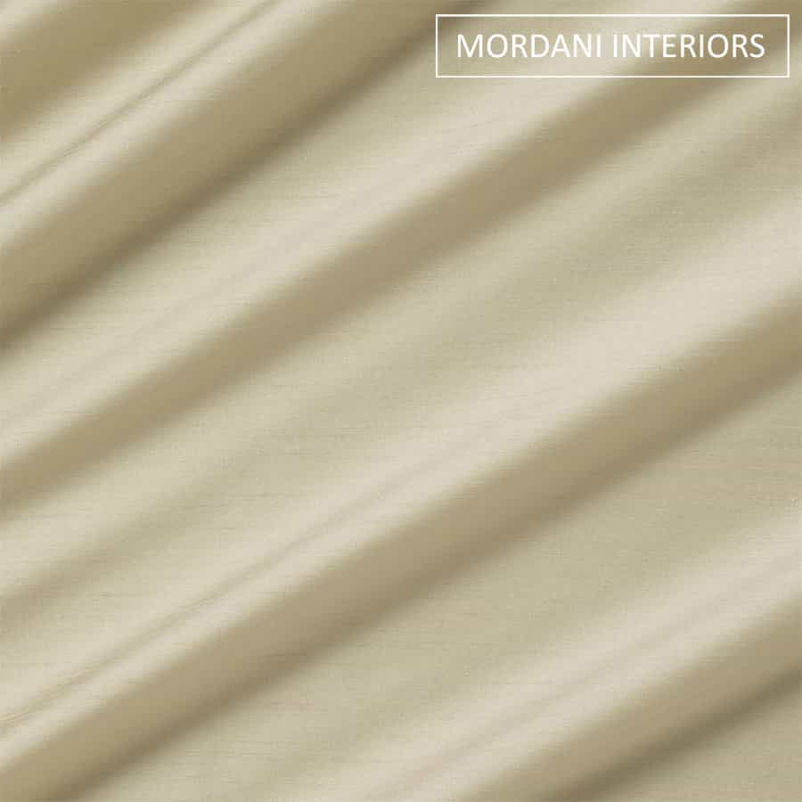 Paper Beige Silk Curtain and Drapes