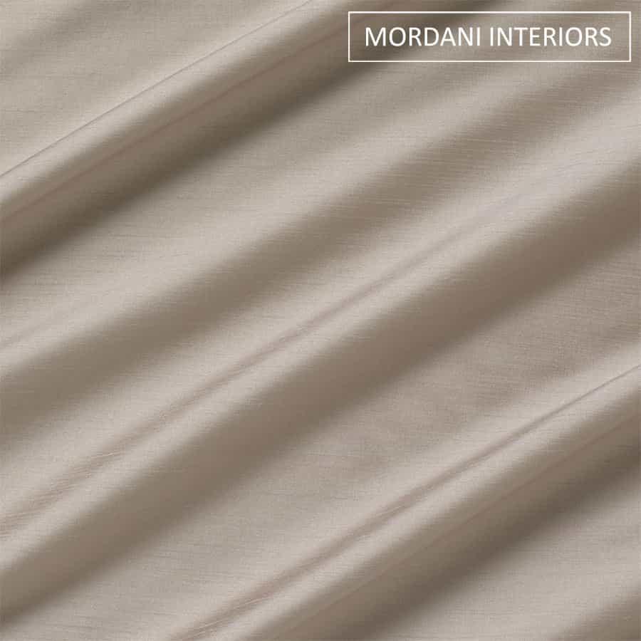 Grey Silk Curtain and Drapes