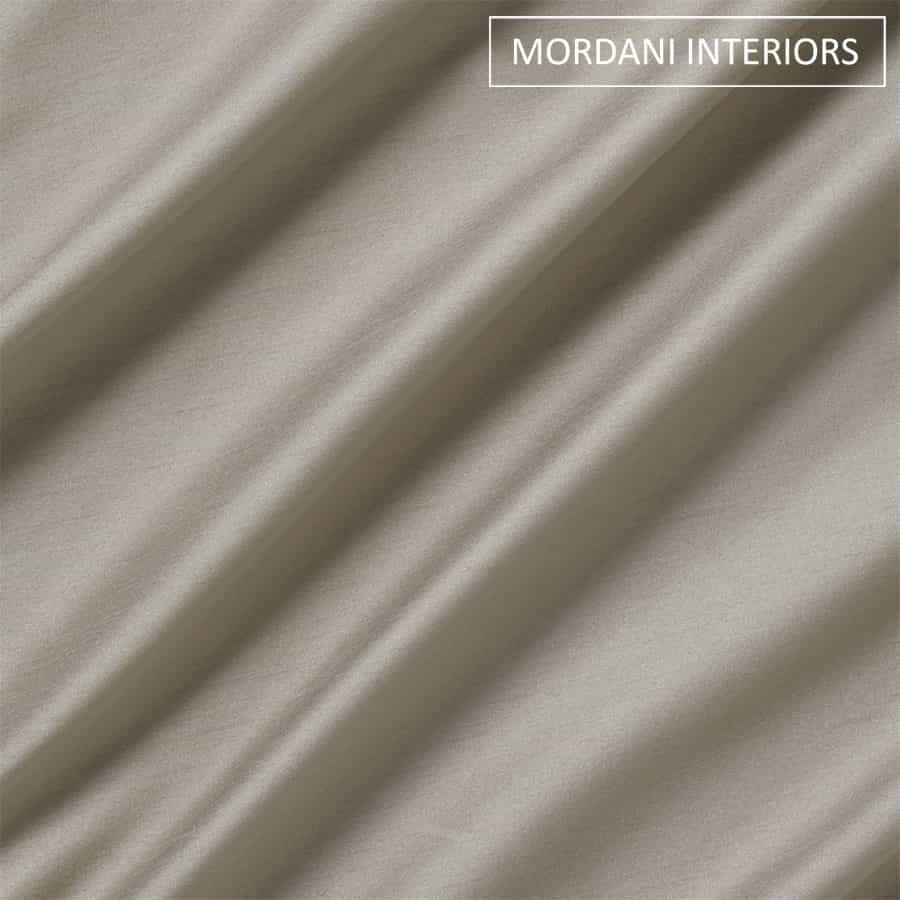 Smoke Grey Silk Curtain and Drapes