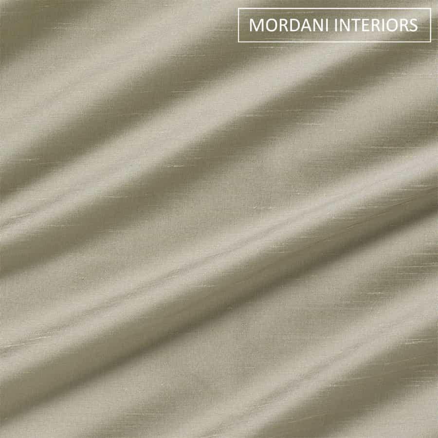 Cloud Grey Silk Curtain and Drapes