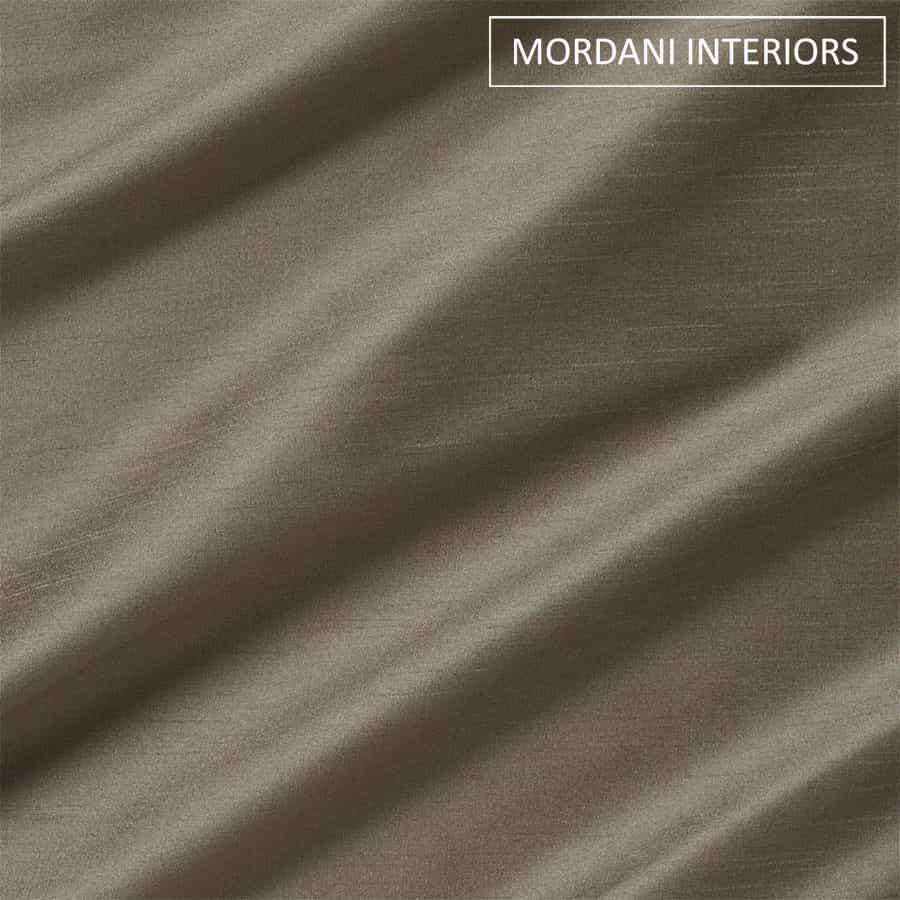 Pebble Grey Silk Curtain and Drapes