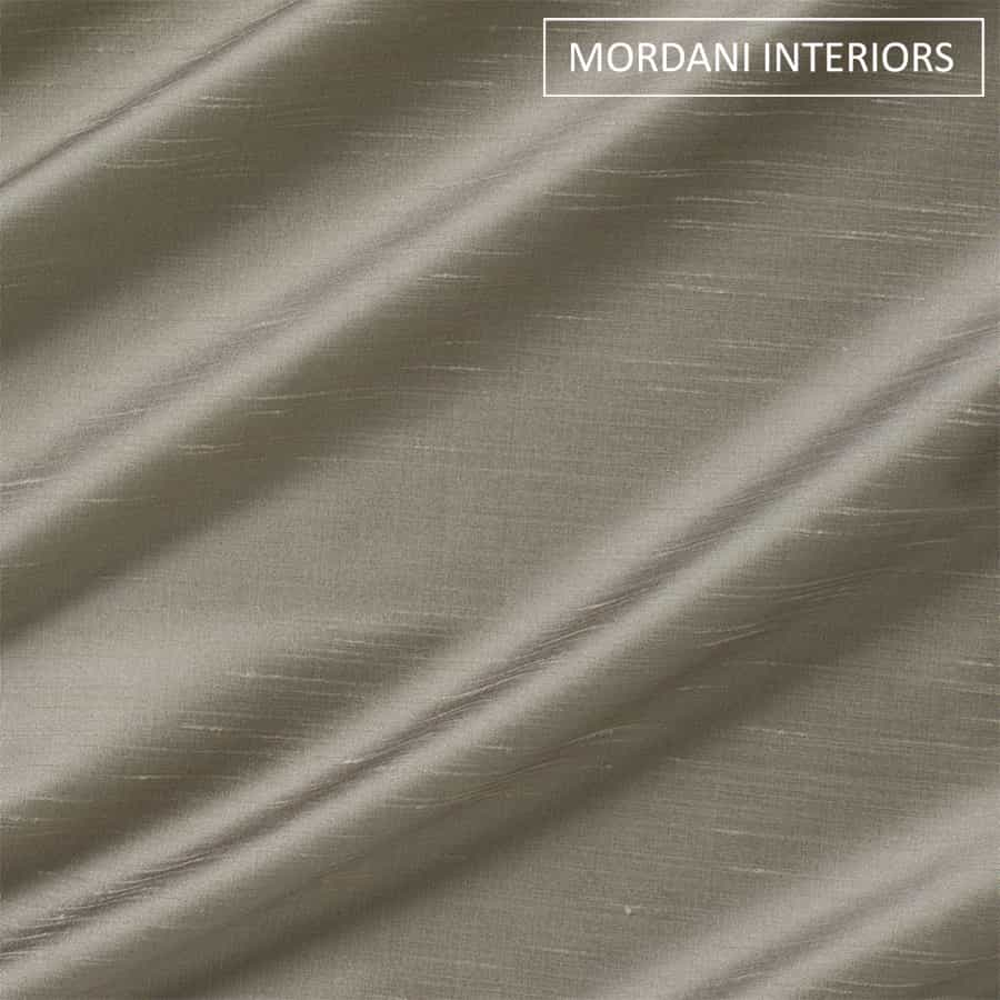 Dove Grey Silk Curtain and Drapes