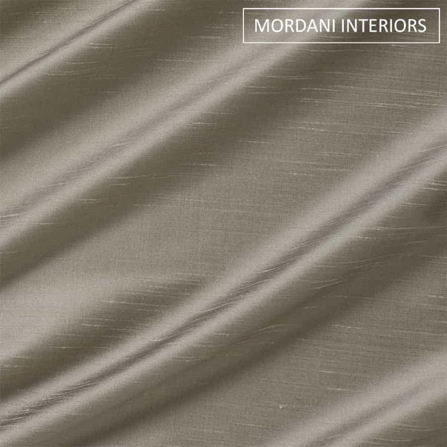 Dove Grey Silk Curtain and Drapes