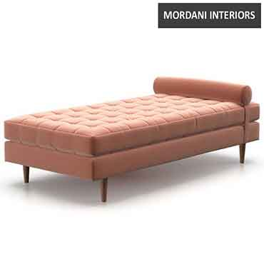 Afiso Chaise Lounge blush pink