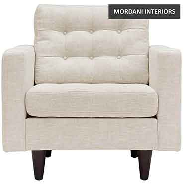 Alakra Beige Accent Chair