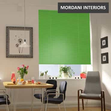 Bright Green Aluminium Venetian Blind