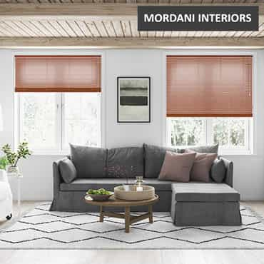 Brown Aluminium Venetian Blinds