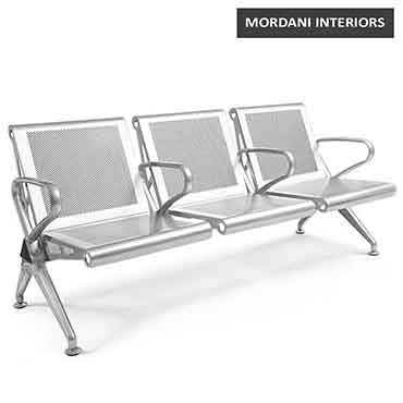 Durant 3 Seater Waiting Area Bench