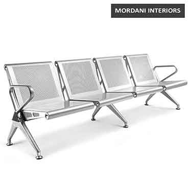 Durant 4 Seater Waiting Area Bench