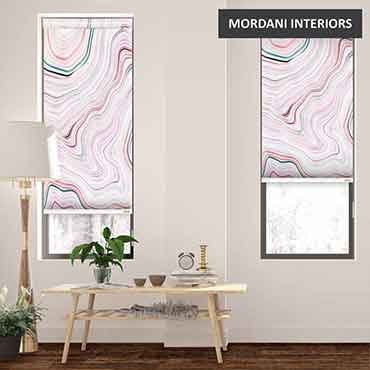 EX-16 Marble Texture Printed Roller Blinds