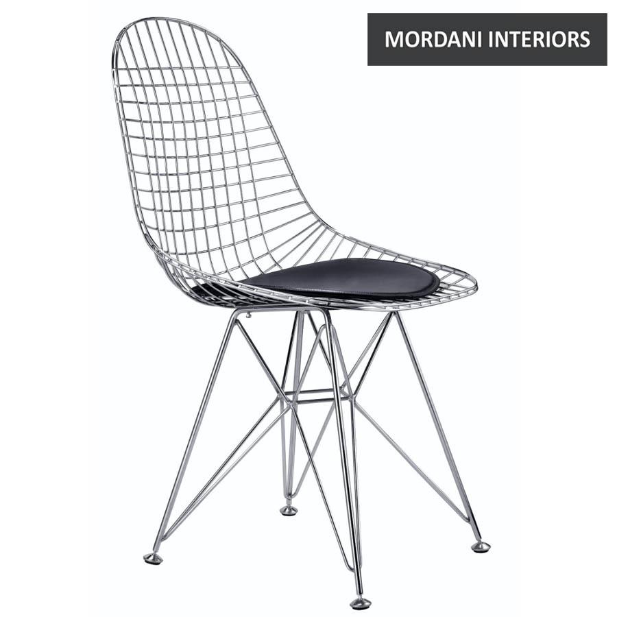 Eames Chrome Wire Chair Replica