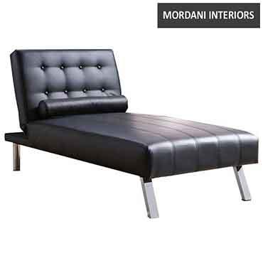 Forchetta Chaise Lounge black