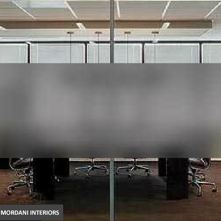 Grey-frosted-Opaque-partition-film