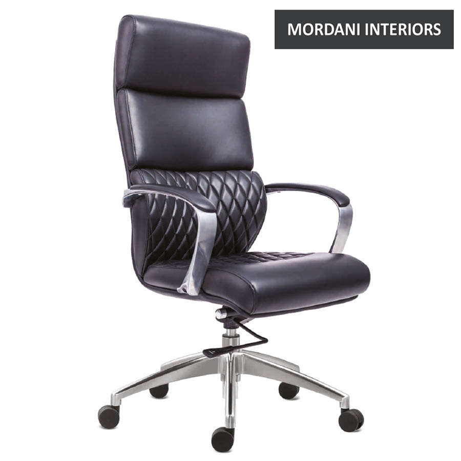 Krogsta High Back 100% Genuine Leather Chair