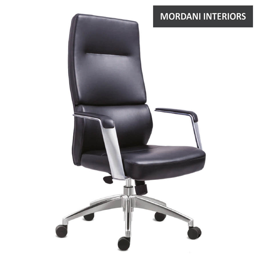 Tyler High Back 100% Genuine Leather Chair