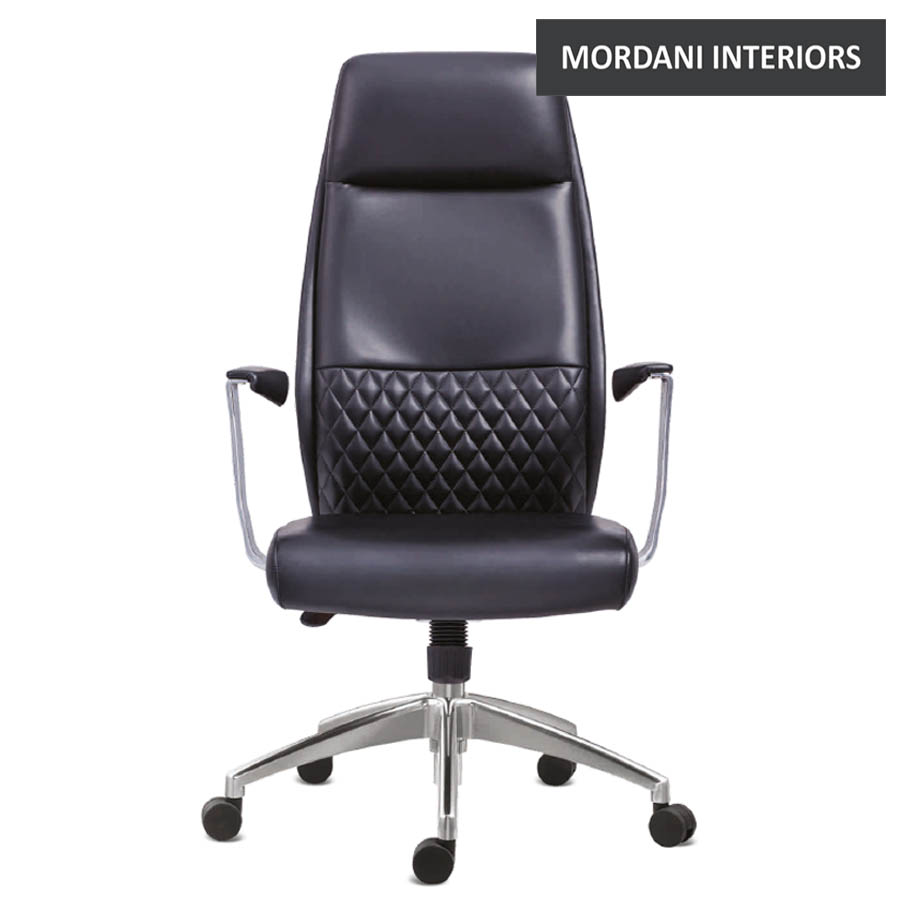 Woolman High Back 100% Genuine Leather Chair