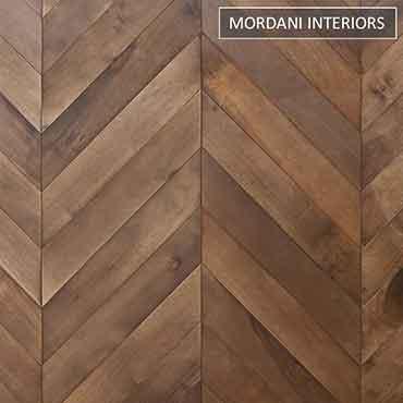 American Walnut  Wood Walk Herringbone Engineered Flooring
