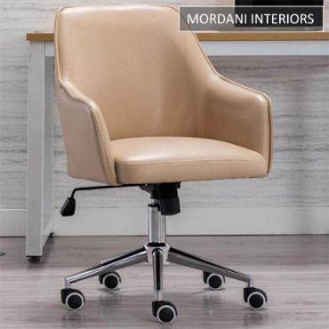 Arlo Beige Designer Chair