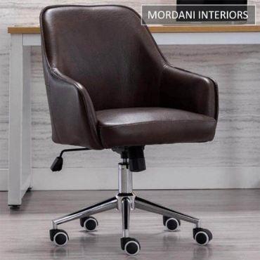 Arlo Brown Designer Chair