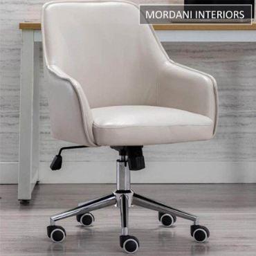 Arlo Cream Designer Chair