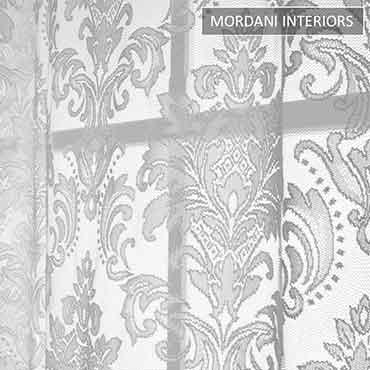 Ash Damask Sheer Curtain