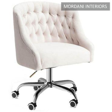 Ashington Light Pink Designer Chair