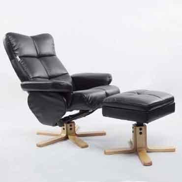 Benigna Recliner Chair With Ottoman