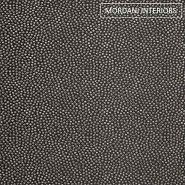 Black  Chenille Upholstery