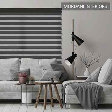 Black Triple Shade Blinds