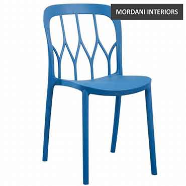 Bloom Blue Cafe Chair
