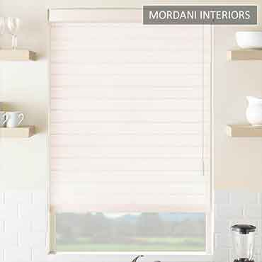 Blush Pink Triple Shade Blind