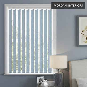 Breeze Blue Vertical Roller Blind