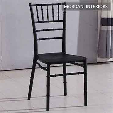Brit Black Cafe Chair