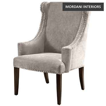 Catmint Light Grey Lounge Chair