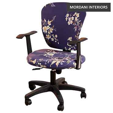 Gibson Blue Floral Kids Chair