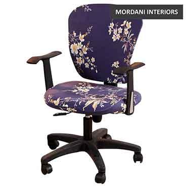 Gibson Blue Floral Kids Chair
