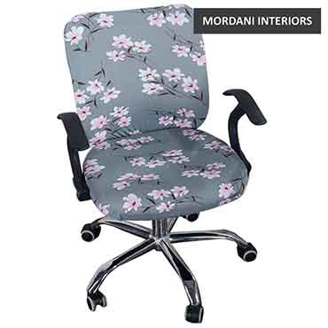 Gibson Light Grey Floral Kids Chair