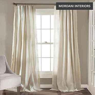 Cream Cotton Curtain