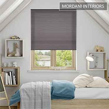 Dark Grey Honeycomb Blind