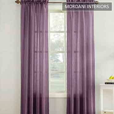 Purple Sheer Curtain