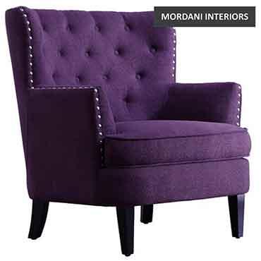 Eyetel Violet Club Chair
