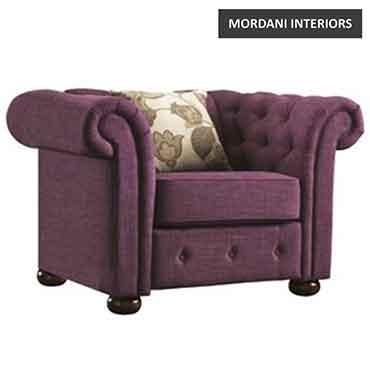 Falkirk Purple Club Chairs