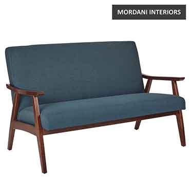 Falsa 2 Seater Blue Loveseat Sofa