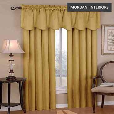 Gold Cotton Curtain