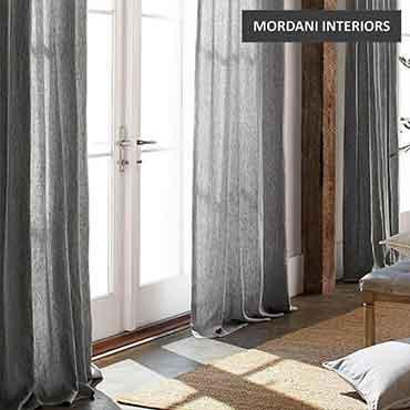 Thunder Grey Cotton Curtain