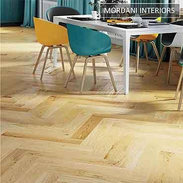 Lacquard Oak Herringbone Flooring