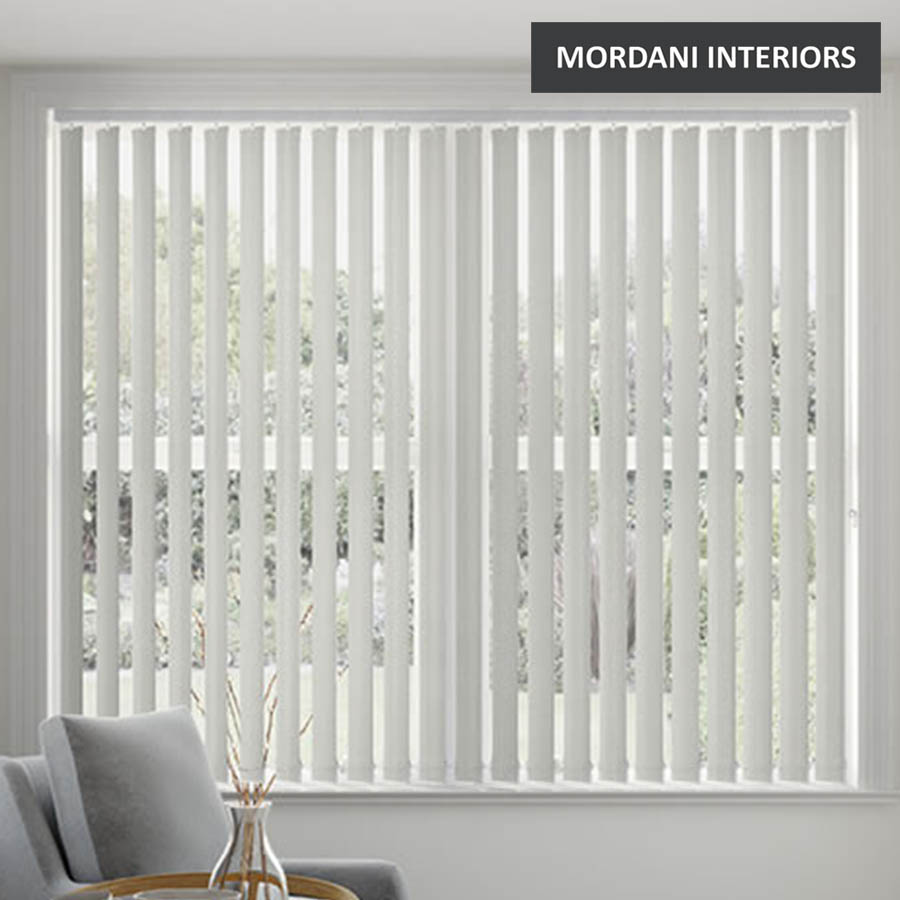 Iron Grey Vertical Roller Blind