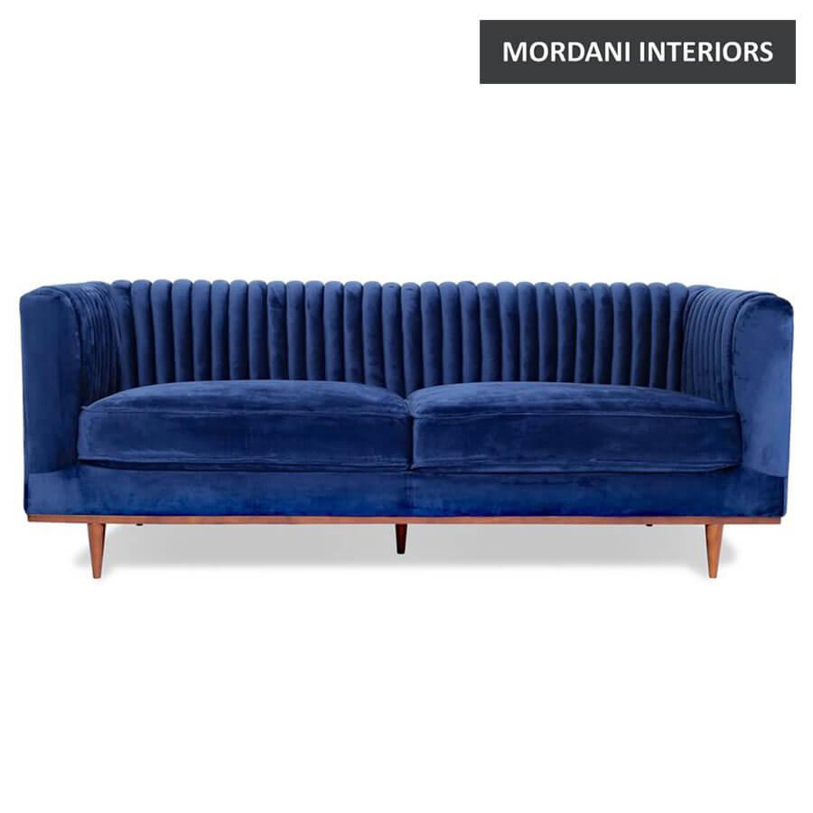 karlstad  Velvet Sofa