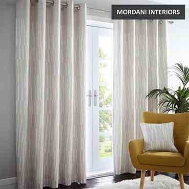 Beige  Linen Curtain